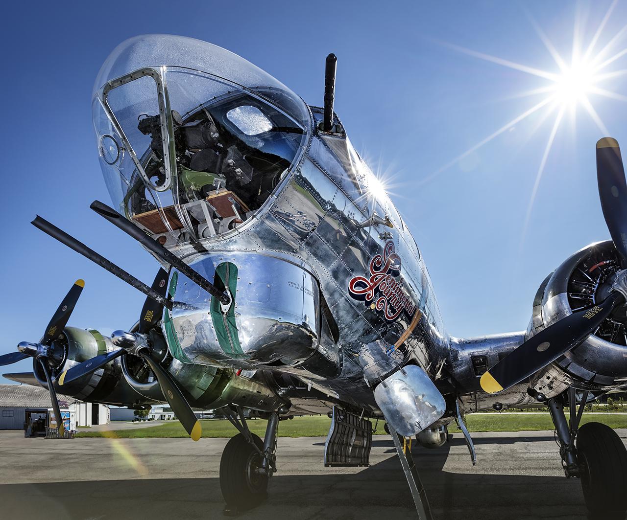 IMAGE: http://markfingar.com/photogallery/Aircraft/7-28-17/B17_SJ_nose-lr.jpg
